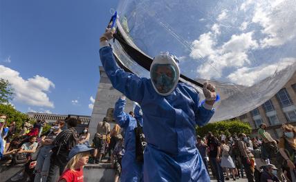 Битва с коронавирусом оставит Евросоюз без штанов геополитика