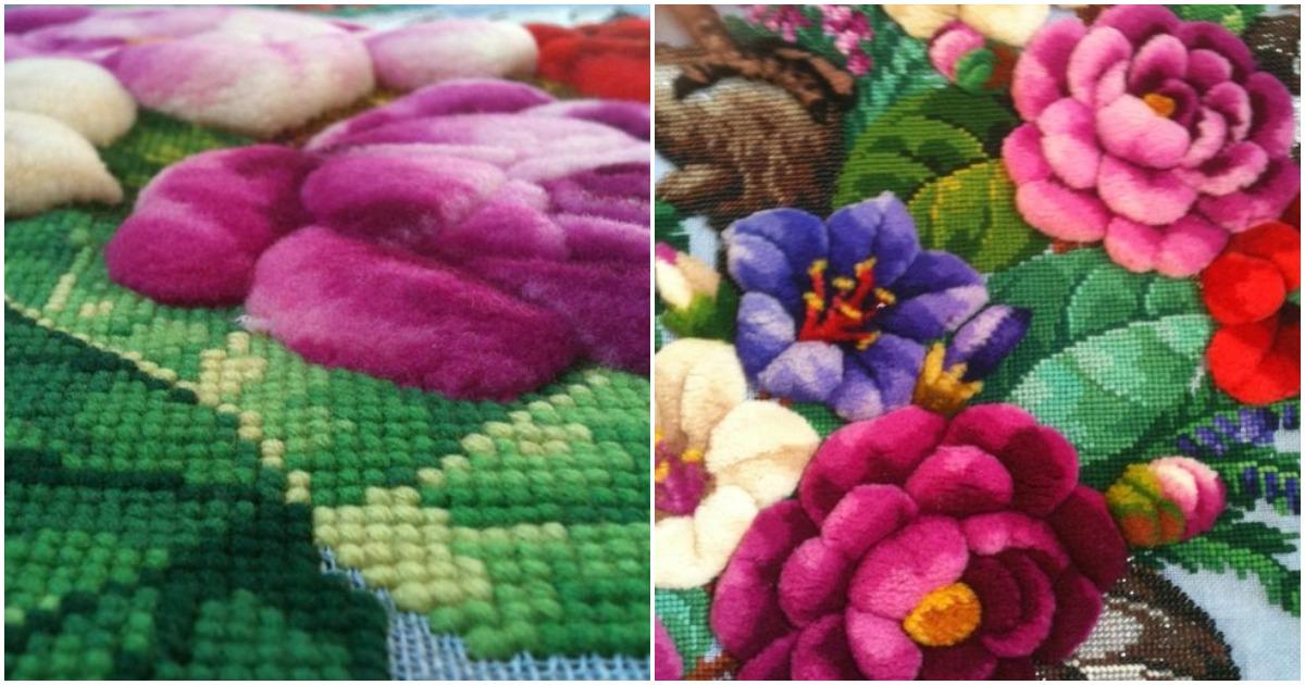 Вышивка с стиле мягких игрушек — секреты бахромчатого шва