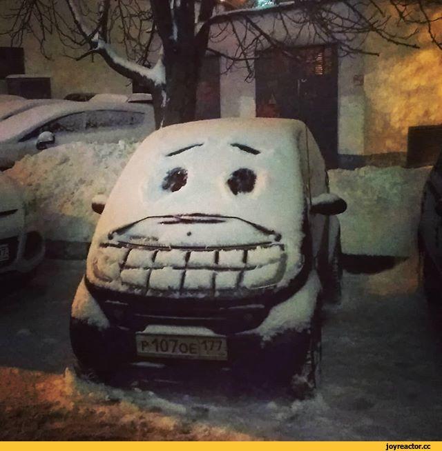Кому-то и снег в радость!