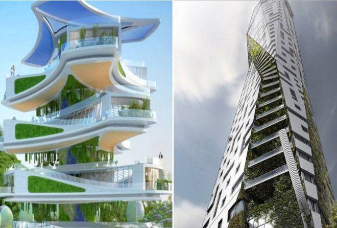 13 домов будущего, которые далеко не вымысел, а самая настоящая реальность