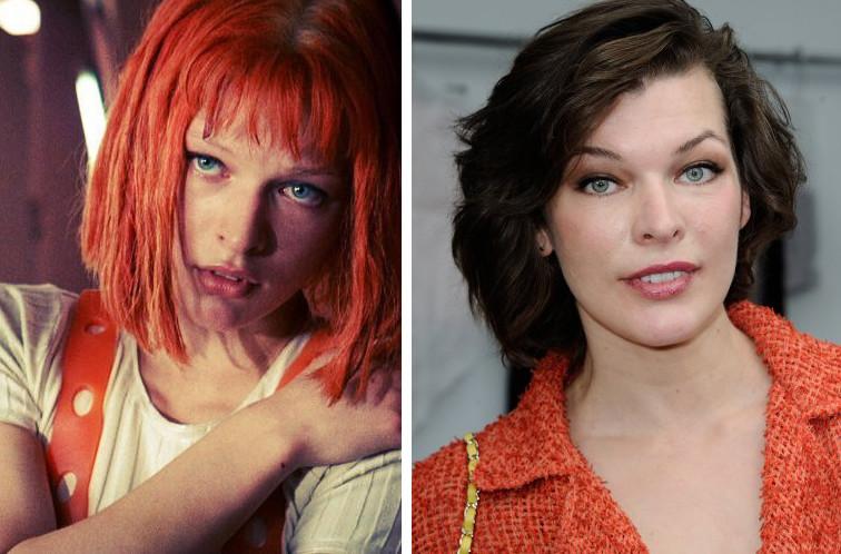 Актеры фантастического боевика «Пятый элемент» тогда и сейчас