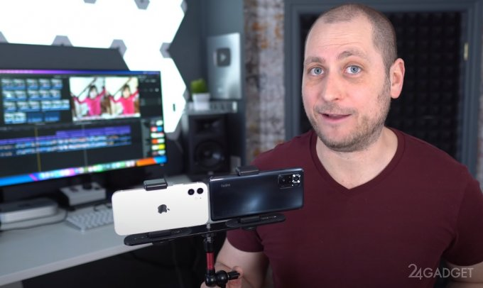 Блогер сравнил фотовозможности камер iPhone 12 и Redmi Note 10 Pro