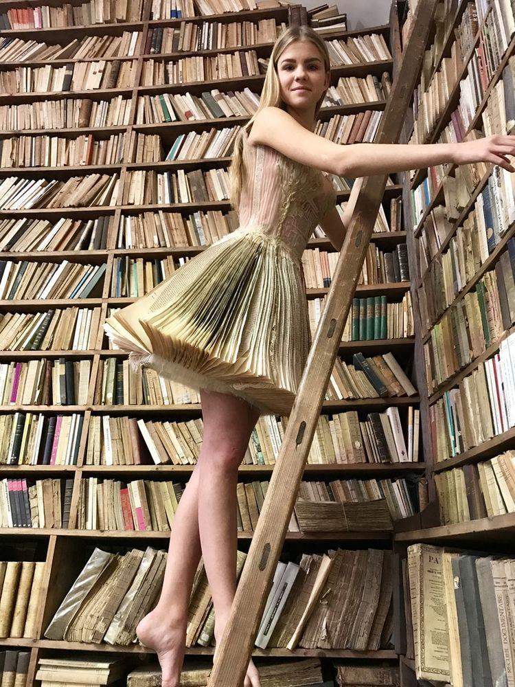 Француженка Sylvie Facon создает платья, которые поражают даже видавших виды людей, фото № 9