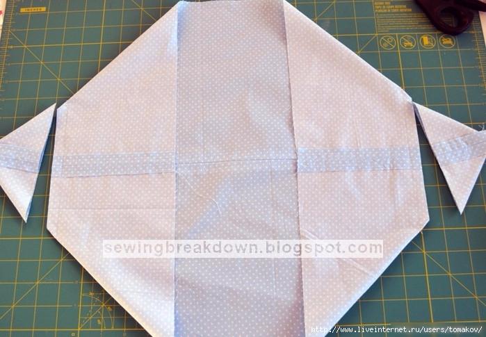 Сумка-переноска для куклы, мастер-класс Игрушки,рукоделие,сумка-переноска,шитьё