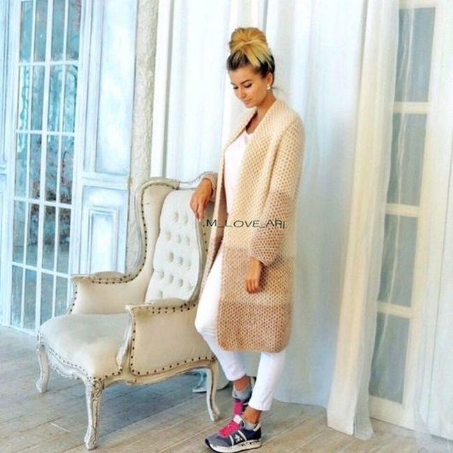 Модные вязаные кардиганы — женские штучки на прохладную осень