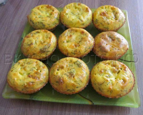 Кексы из плавленных сырков — отличный вариант для завтрака