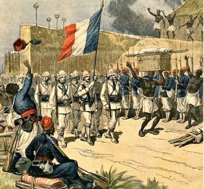 Франция своими «осколками» не разбрасывается геополитика