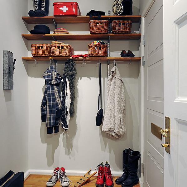 5 интересных альтернатив шкафам в прихожей идеи для дома,интерьер и дизайн