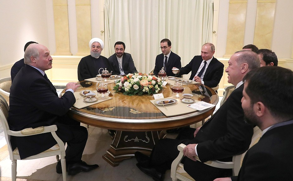 Переговоры в Астане. 14.02.2019. Внезапный Лукашенко