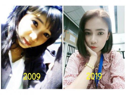 2009 vs. 2019: Интернет-пользователи делятся своими фотографиями 10-летней давности