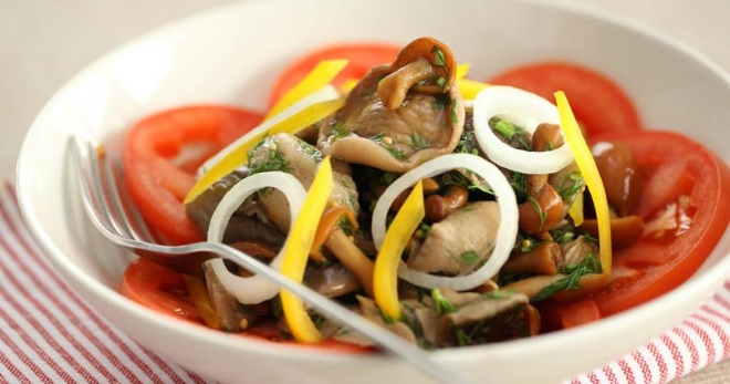 Постные салаты быстро и вкусно - рецепты отменных закусок на каждый день