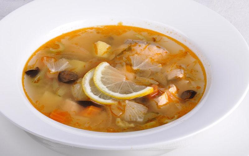 рецепт супа солянка рыбная