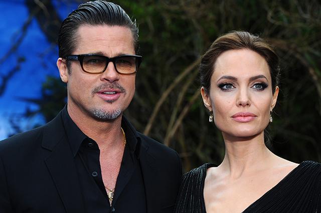 Анджелина Джоли и Брэд Питт договорились отдать детей в обычную школу Звездные пары