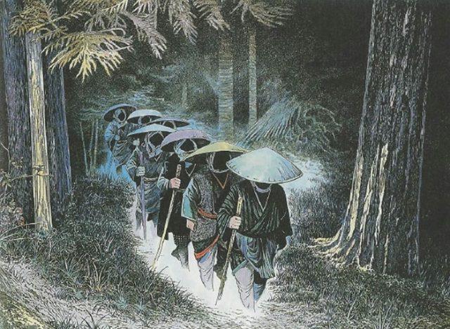 Монстры из японского фольклора