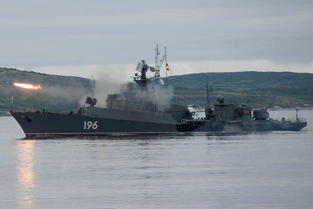 Корабли Северного флота обна…