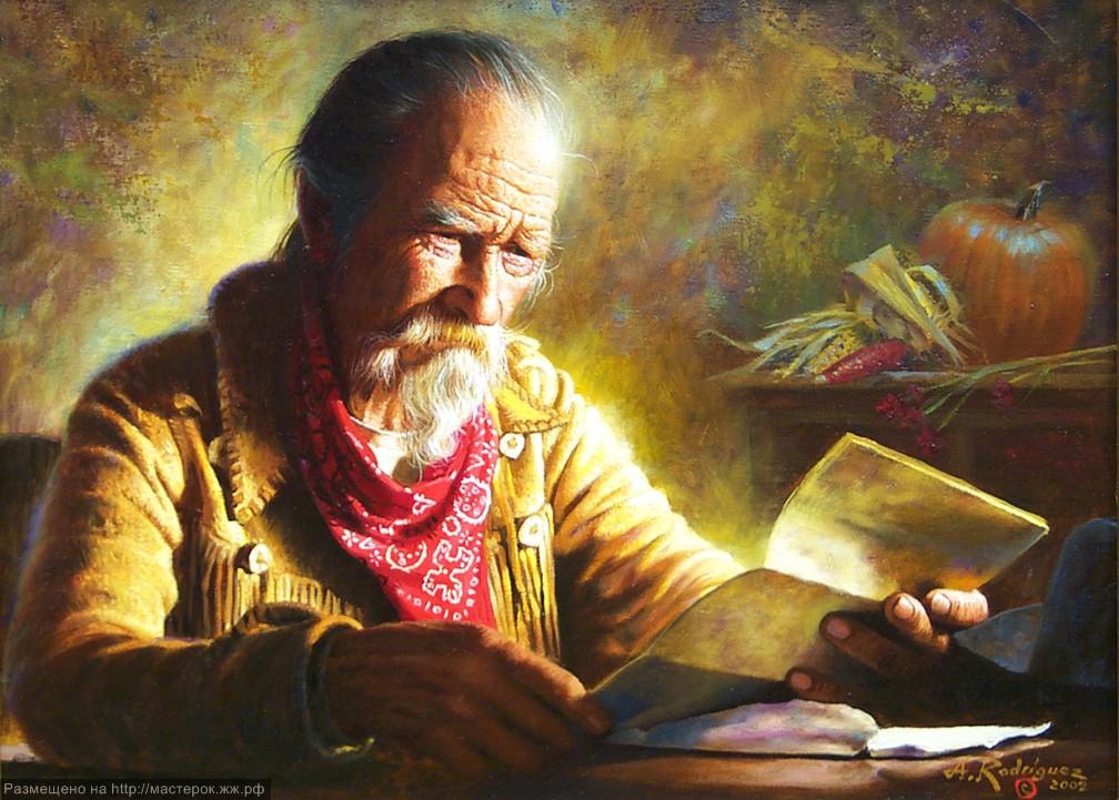 Светлая сторона Дикого Запада в прелестных картинах Альфредо Родригеса картины,культура и искусство,народы мира