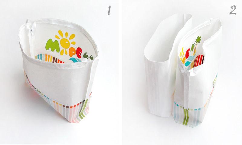 Как сшить пляжную сумочку для девочки
