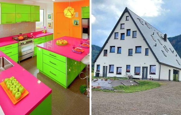 18 домов с таким чокнутым дизайном, что в них не то что жить, а даже просто смотреть странно
