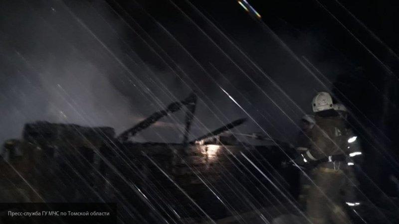 Губернатор Томской области дал поручение выяснить причины пожара в жилом доме