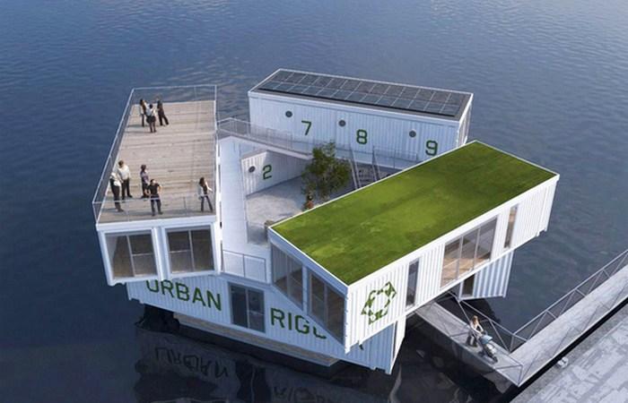 Архитектурные проекты, которые позволят людям жить на воде