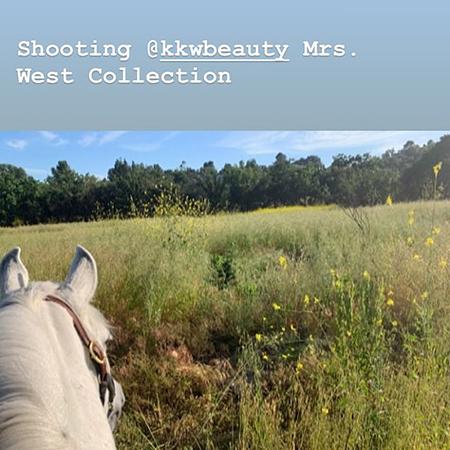 И-го-го: Ким Кардашьян в новой фотосессии для KKW Beauty Фотосессии