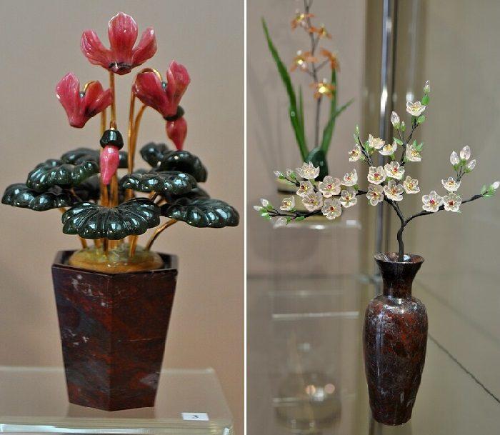 Уникальный райский сад из самоцветов искусство,мастерство,творчество
