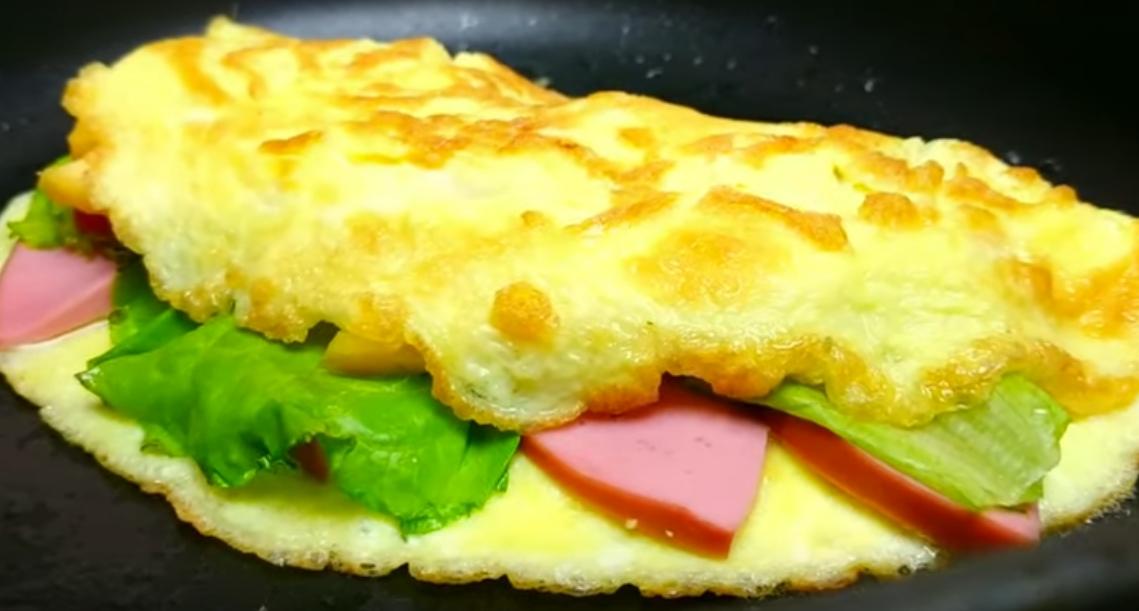 Бесподобный завтрак из яиц