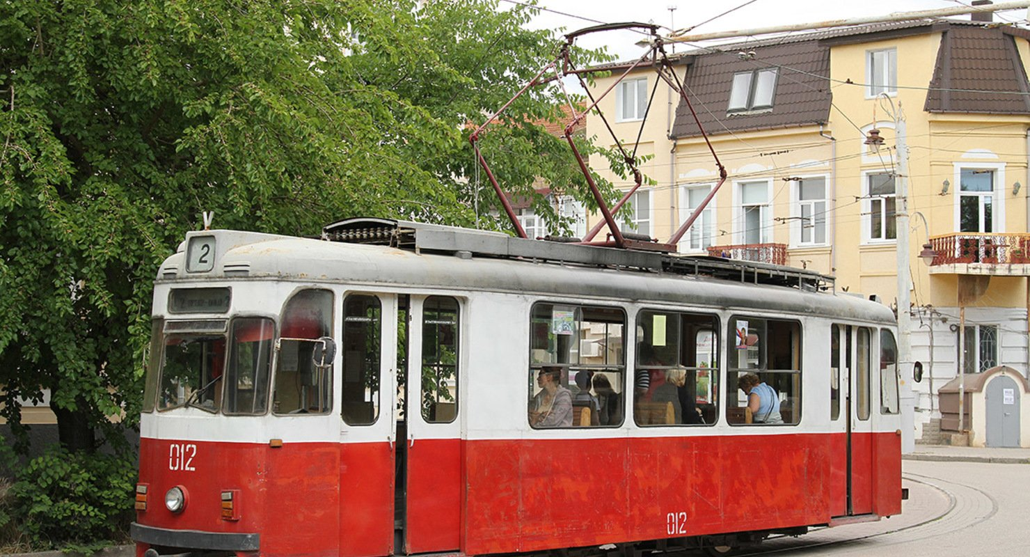 Gotha T57 — трамвай из Евпатории 1957 года выпуска Автомобили