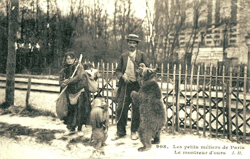 Бродячий цыганский цирк Весь Мир в объективе, ретро, старые фото