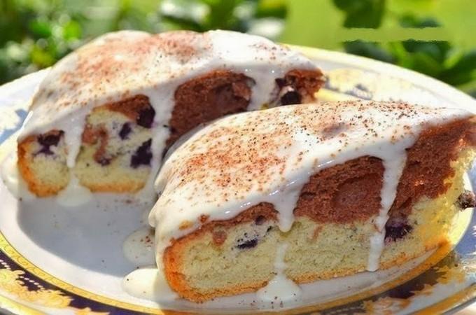 Простой торт со сметанным кремом