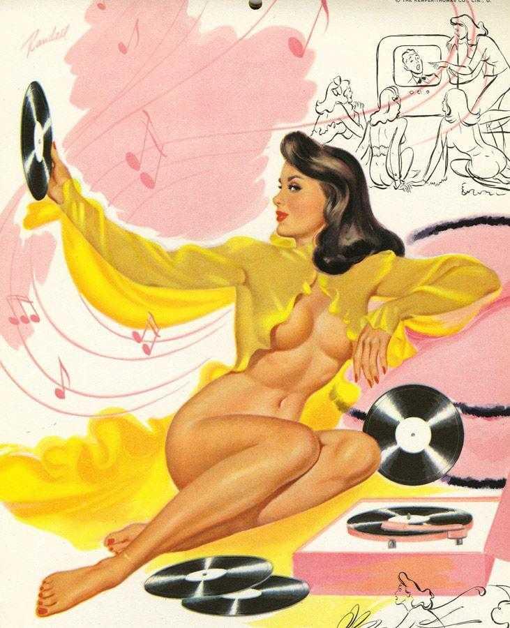 Художник-иллюстратор Bill Randall иллюстрация