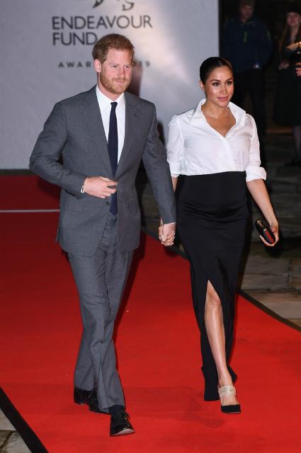 Меган Маркл и принц Гарри приехали на церемонию вручения премий Endeavour Fund Awards Свежие Новости Сегодня