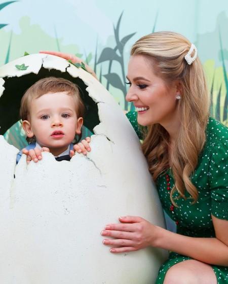 Мария Кожевникова поделилась редкими снимками младшего сына в день его рождения Дети,Дети знаменитостей