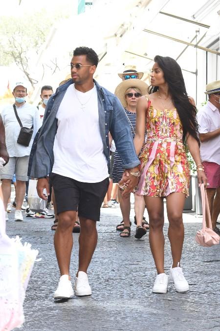 Сиара отдыхает в Италии с Расселом Уилсоном после скандала с фотосессией в стиле принцессы Дианы Звезды,Звездные пары
