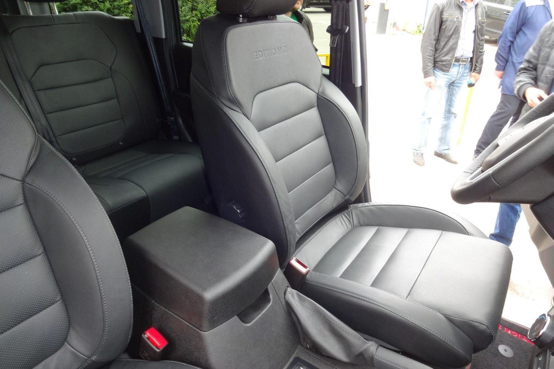 Комфортабельные сиденья от Патриота с «автоматом» будут ставить на всю гамму модели