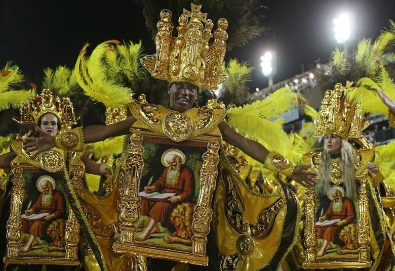 Выступление школы Salgueiro бразилия, в мире, карнавал, события, фото, фотоотчет, фоторепортаж