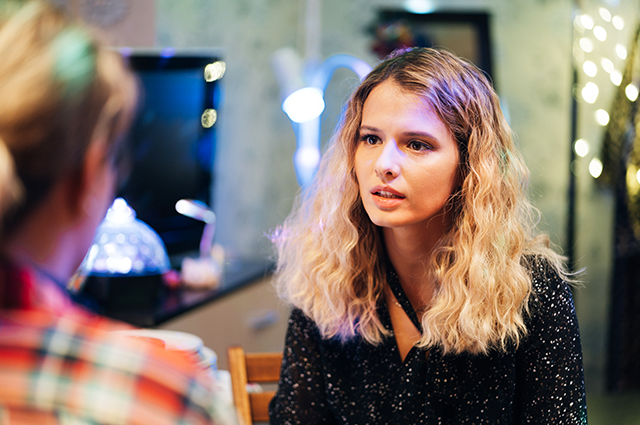 """Любовь Аксенова в первом трейлере комедийного сериала """"Настя, соберись!"""""""