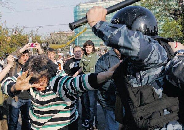 Борис Григорьев. Полицейская дубина как средство заработка оппозиционеров?