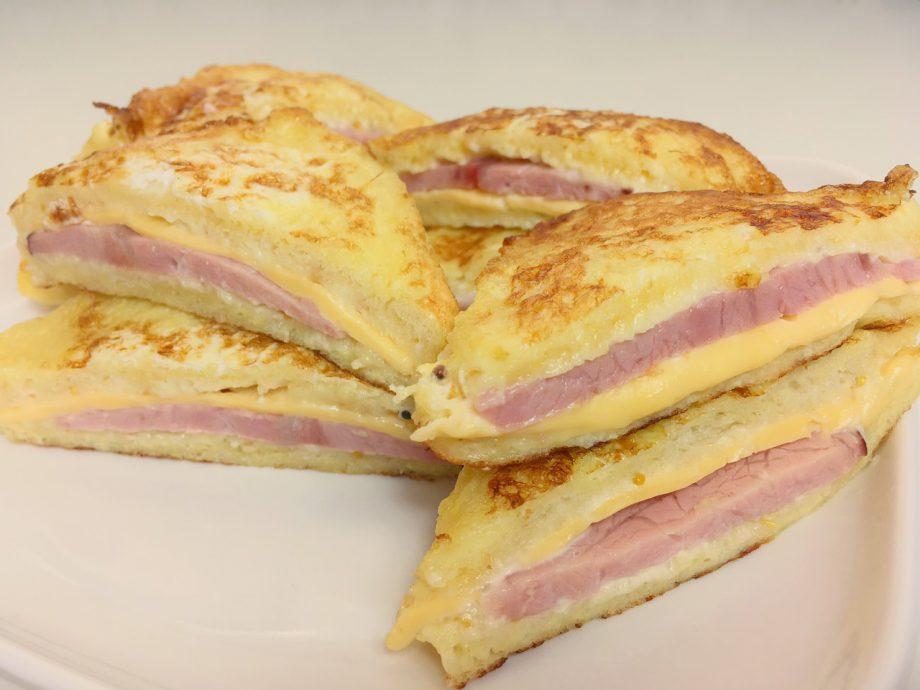 Сэндвич, который просто тает во рту. Десять минут и вкуснейший завтрак готов