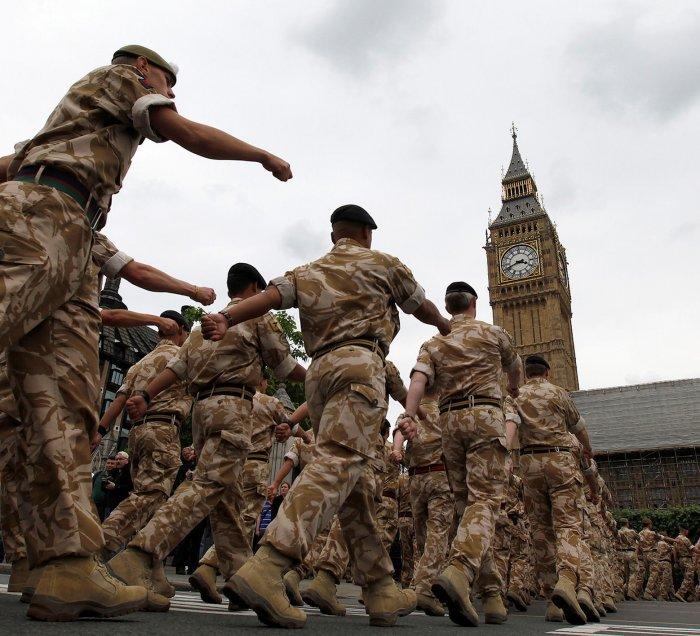 Британская армия готова кпо…