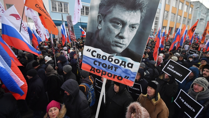 Митингующие без шуток оживили Немцова и не смогли вспомнить, кто он россия