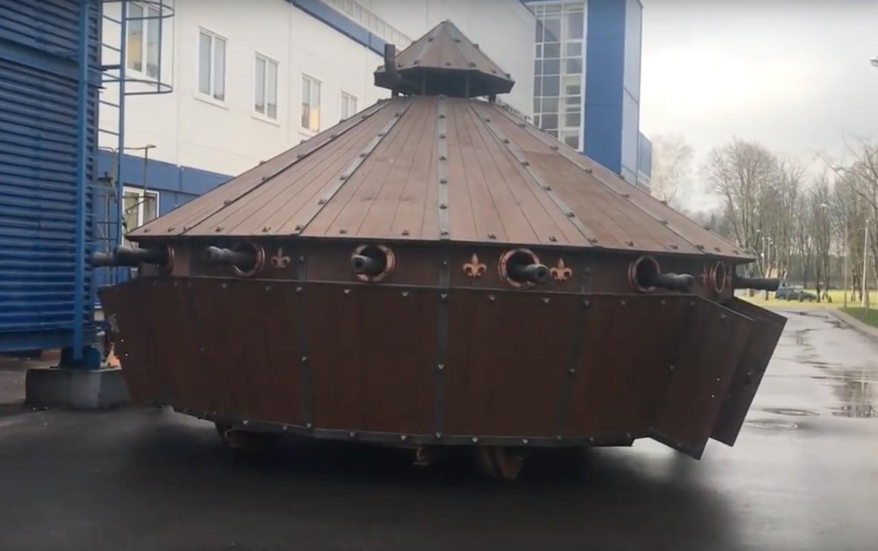 ВБелоруссии создали танк по…