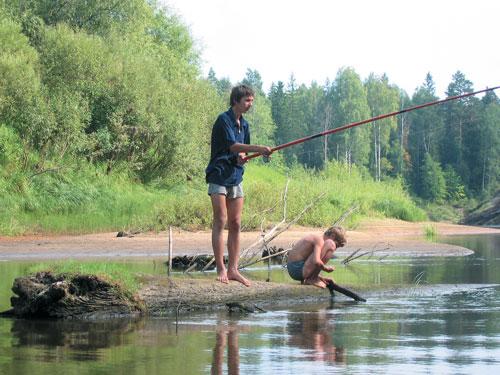 Вот так закончилась секс рыбалка
