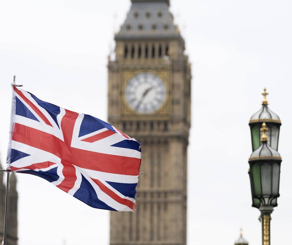 лондон флаг фото
