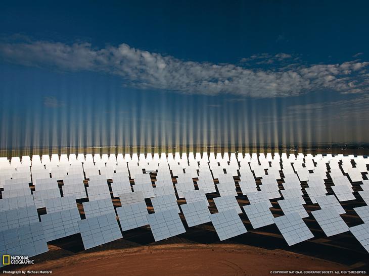 Солнечная электростанция в Испании