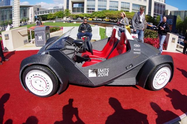 Первый в мире автомобиль, полностью распечатанный на 3D принтере