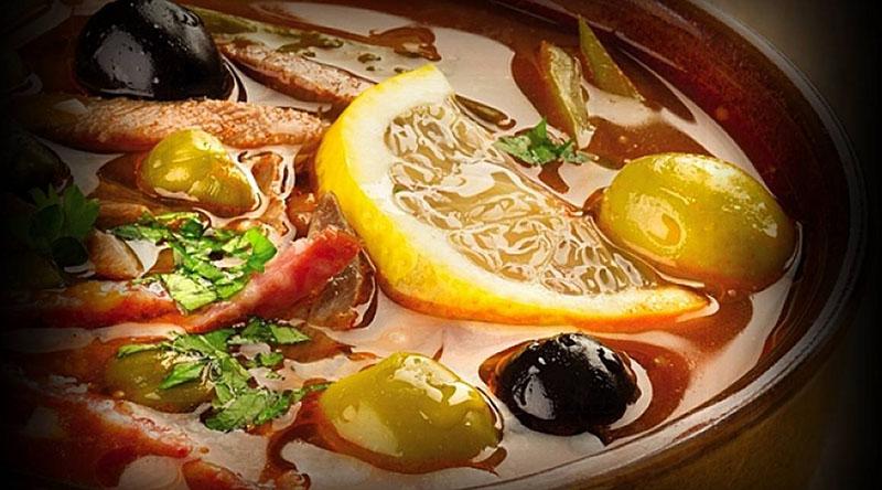 рецепт солянки с каперсами