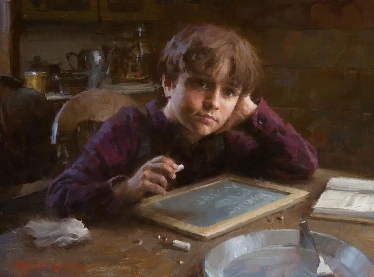 Художник Morgan Weistling. Самое обыкновенное счастье живопись