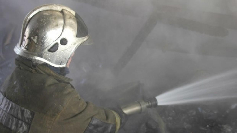 Спасатели ликвидировали пожар в Выборгском районе Санкт-Петербурга Происшествия