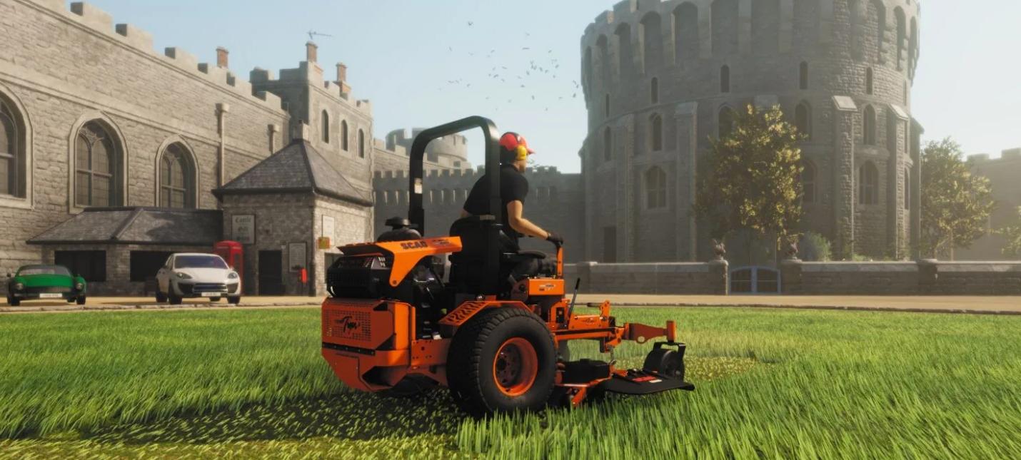 Анонсирован симулятор газонокосильщика Lawn Mowing Simulator adventures,pc,ps,xbox,Аркады,Игры,Приключения